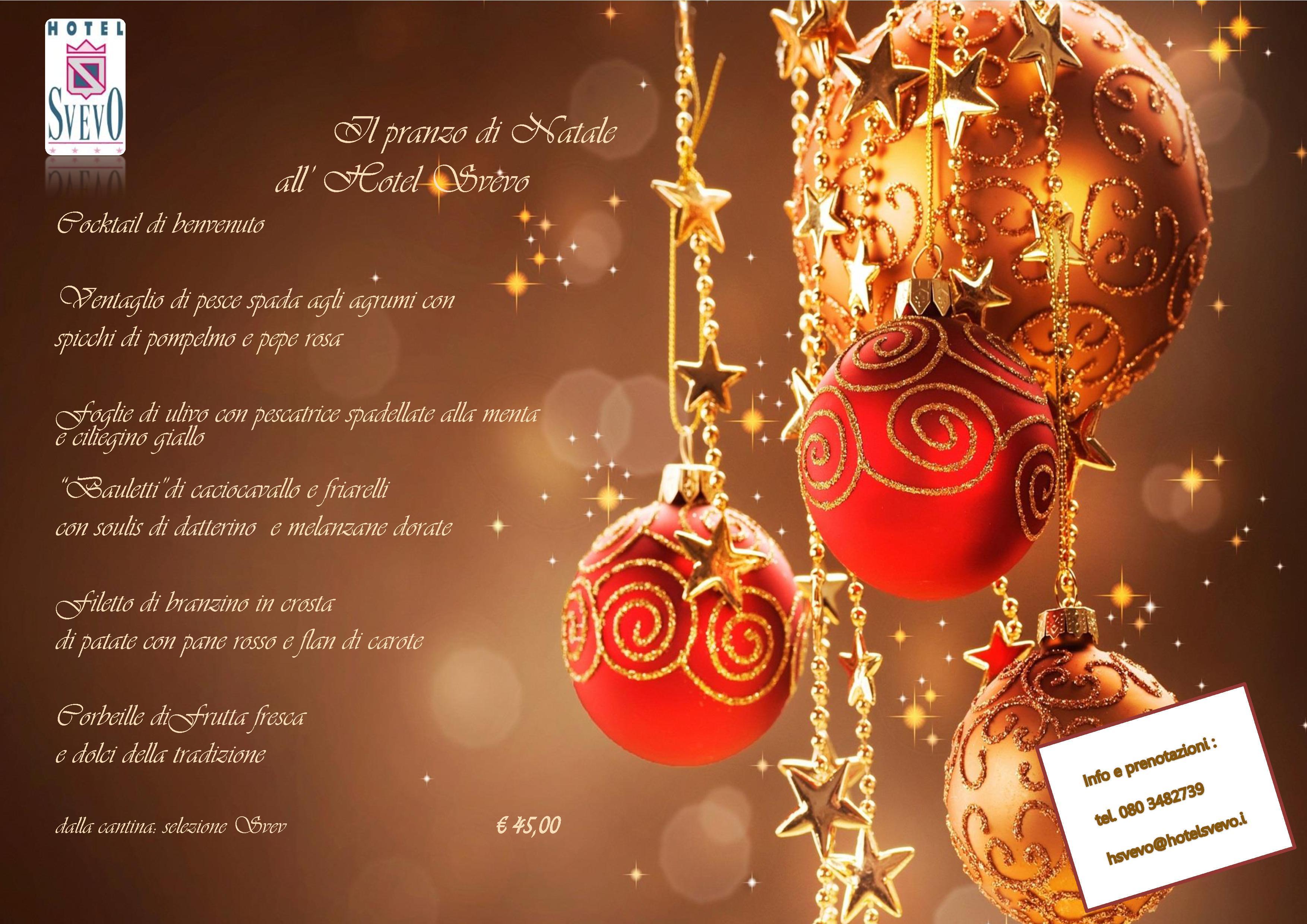 Immagini Natale E Capodanno.Natale E Capodanno All Hotel Svevo Hotel Svevo